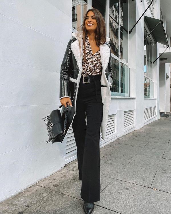 Marta Lozano camisas básicas vintage microestampado