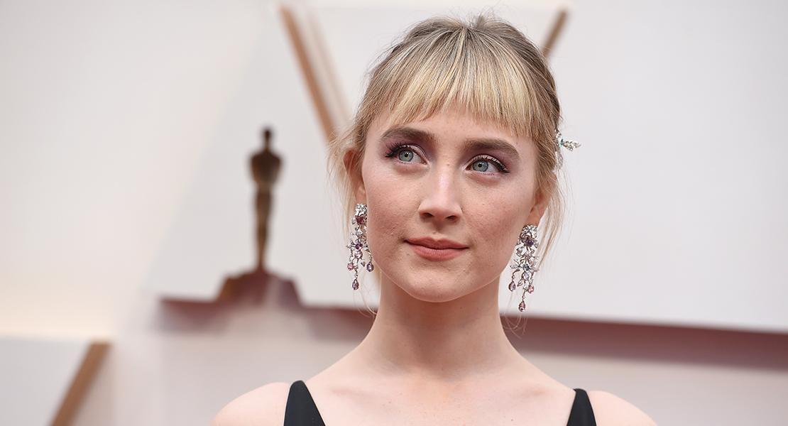 @Gtres Saoirse Ronan alfombra roja looks beauty de los Oscar 2020
