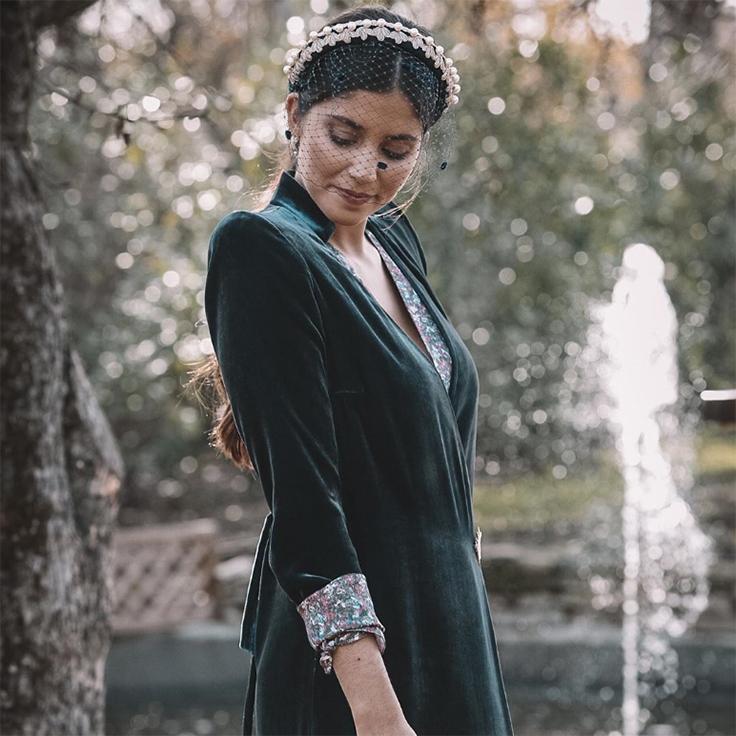 maria garcia de jaime accesorios para el pelo tocado