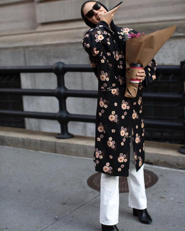 vestidos de flores pantalones