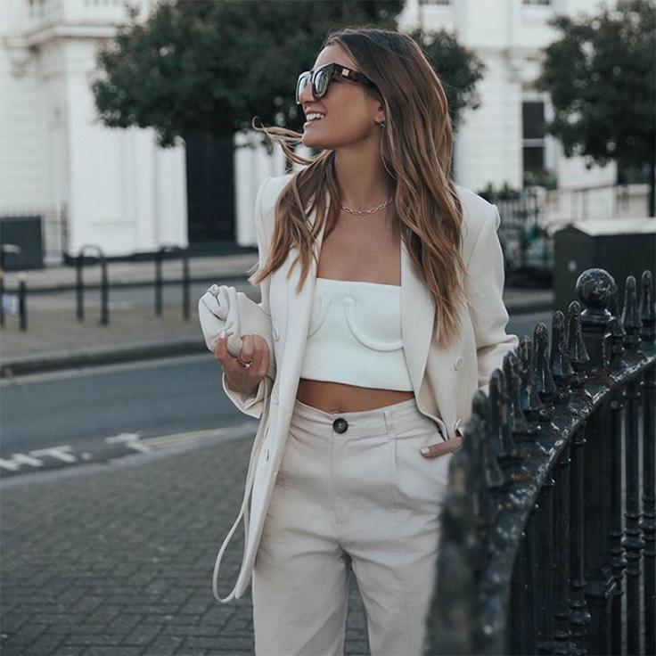 bartabacmode silvia looks en blanco estilo tendencias primavera
