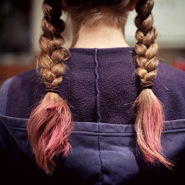 cabello teñido