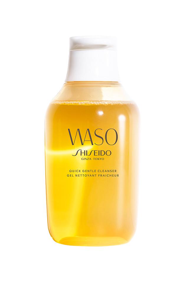 Gel Limpiador Waso de Shiseido, disponible en EL Corte Inglés