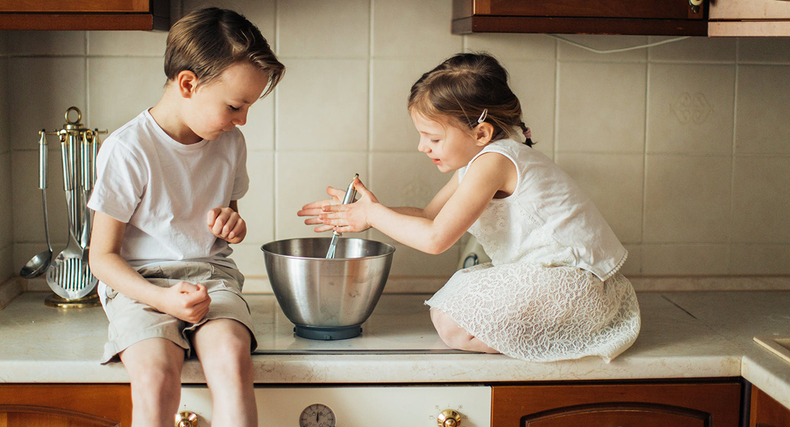receta de tarta de queso para hacer con niños