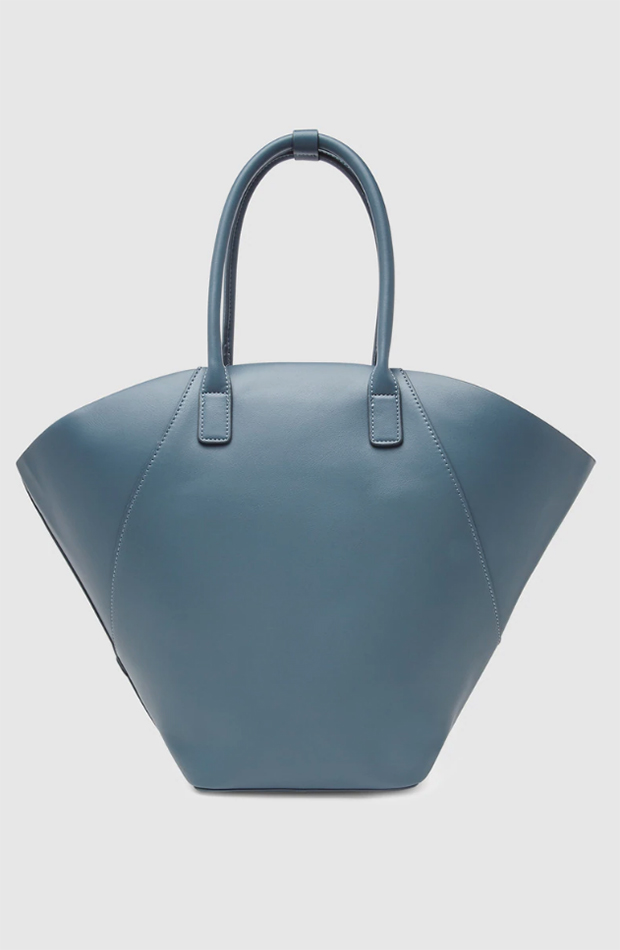 Bolso shopper azul de El Corte Inglés