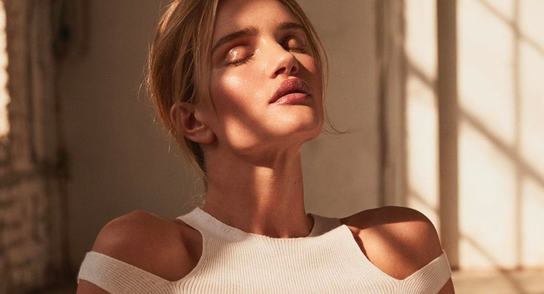 Rosie Huntington brumas faciales