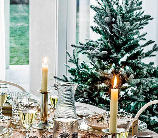 10 claves para preparar tu mesa en Navidad