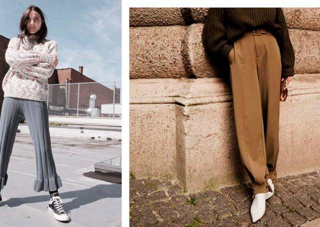 Slouchy, sastre, de cuadros… Estos son los pantalones que están de moda y que tienen que entrar en tu armario