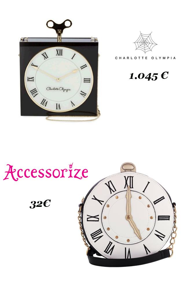 Bolso reloj: Charlotte Olympia Vs. Accessorize-48335-entutiendamecole
