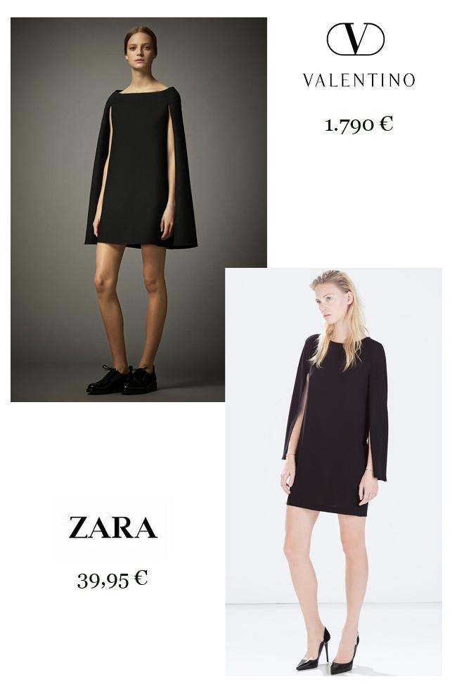 Vestido capa: Valentino Vs. Zara-48329-elba