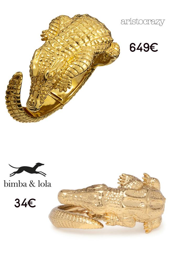 Pulsera cocodrilo: Aristocrazy Vs. Bimba y Lola-48366-entutiendamecole