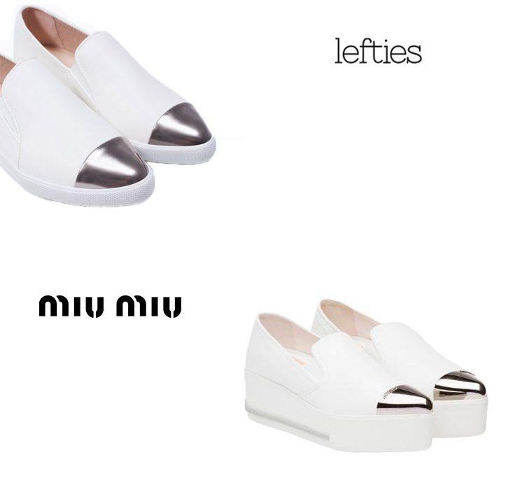 Clon de Miu Miu en Lefties
