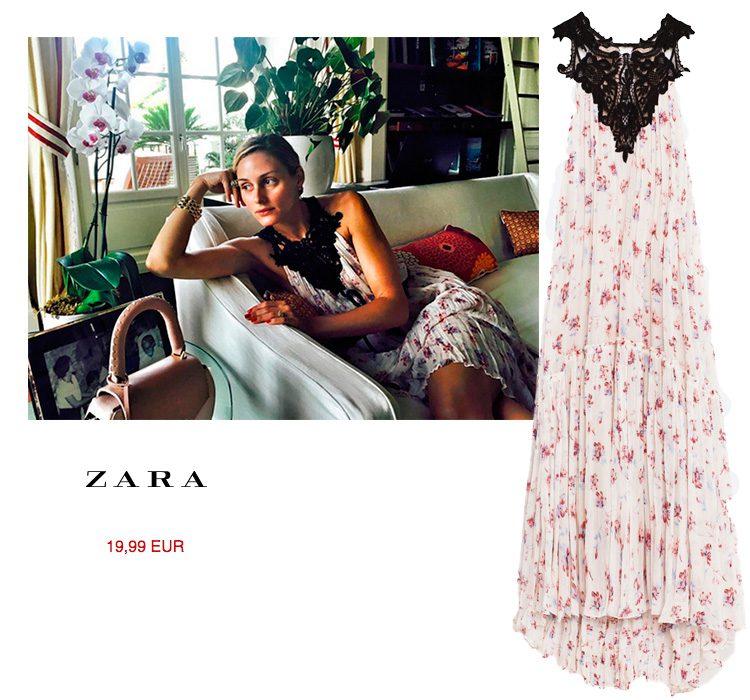 Zara vestido de rebajas