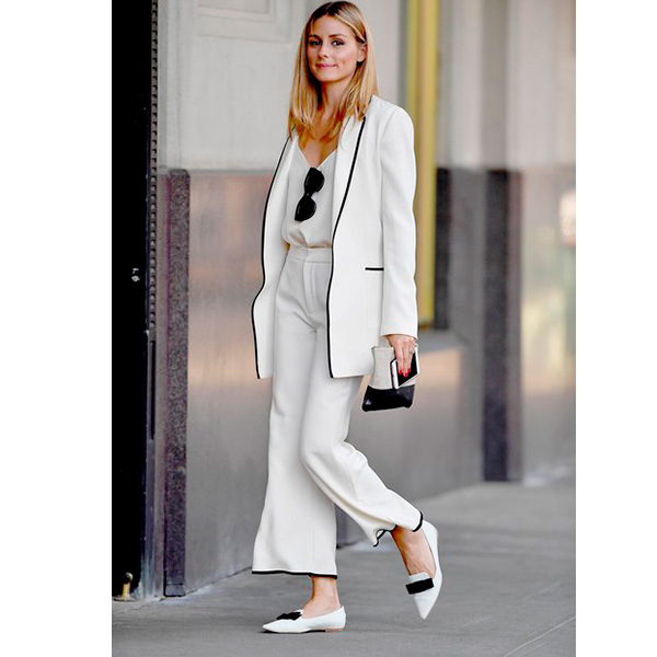 Look blanco de Olivia Palermo
