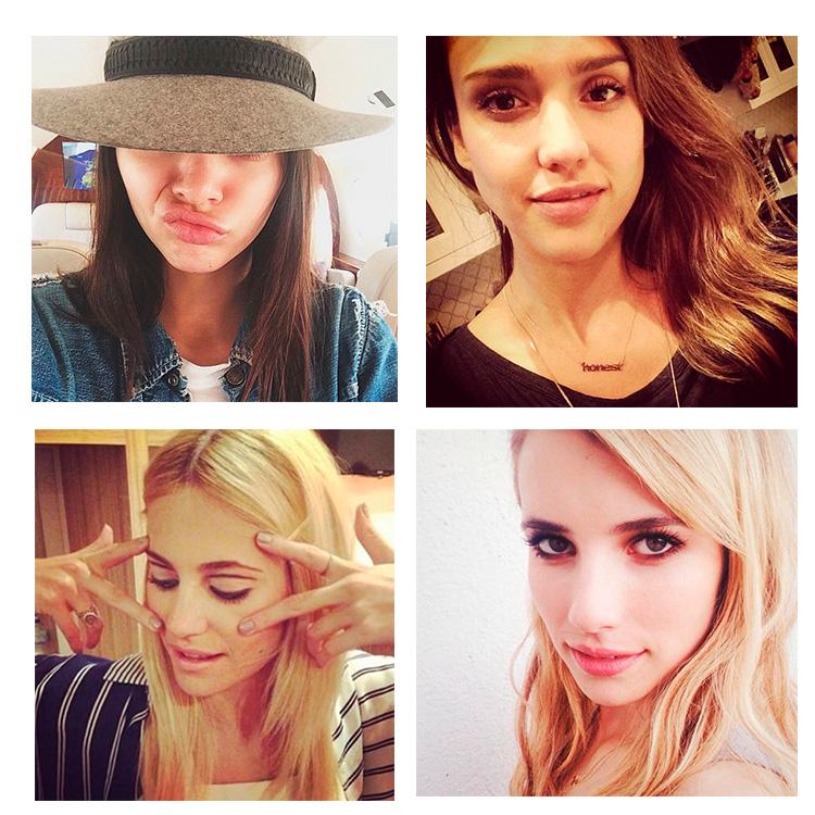 Imagen insta Kendall, Emma, Pixie y Jessica