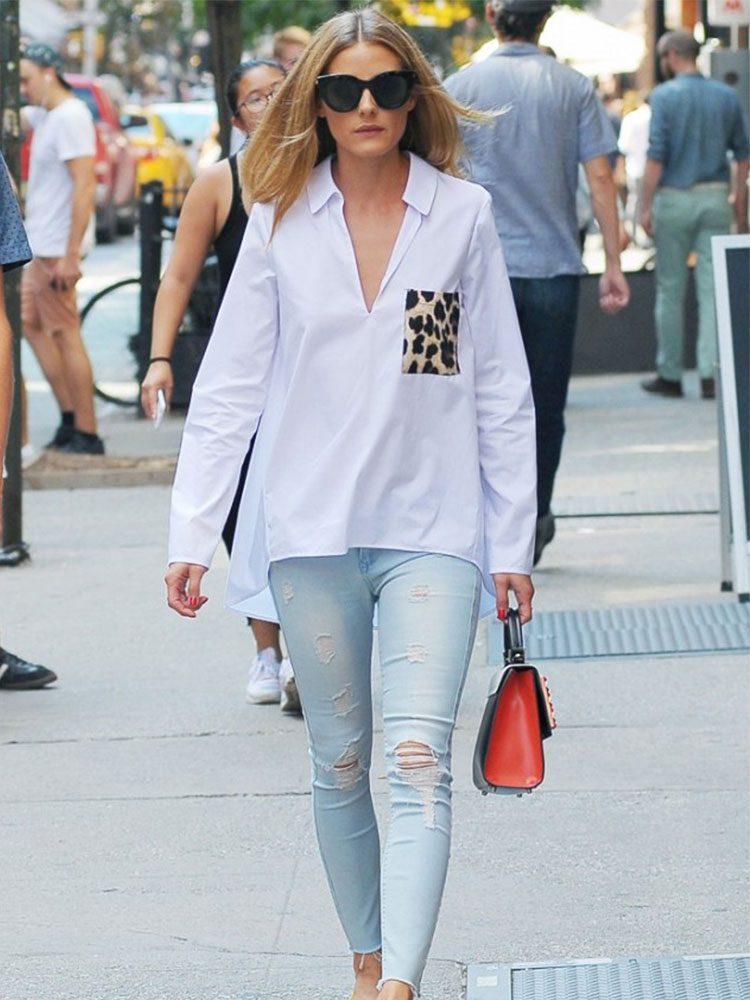 Olivia Palermo vuelve a vestir de Zara