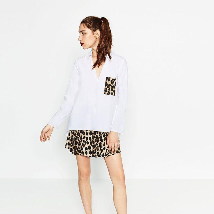 Camisa nueva temporada de Zara