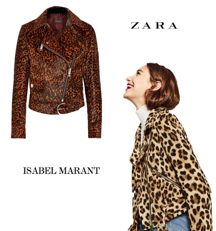 cazadora de Isabel Marant y Zara