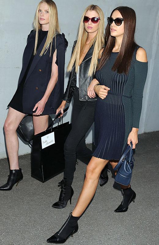 modelos en Milán