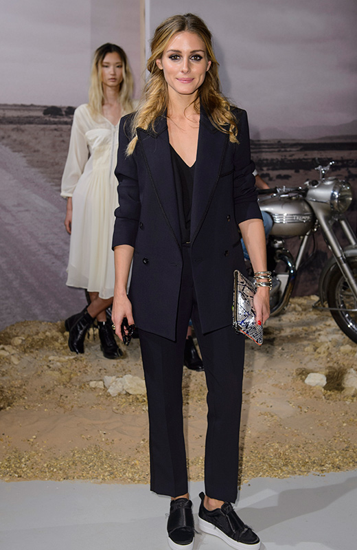 Londres Olivia Palermo front row