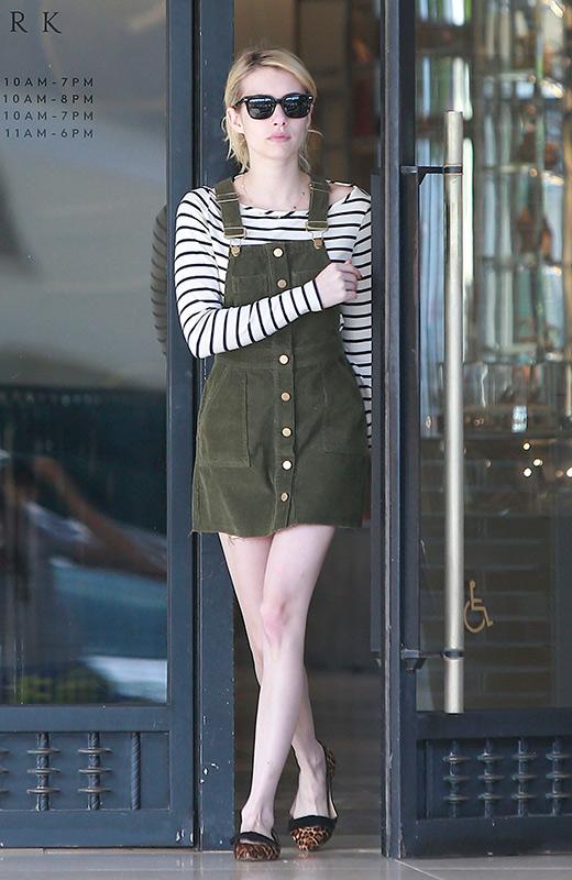 Look de la actriz Emma Roberts