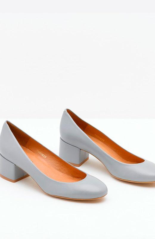 zapatos grises de malababa