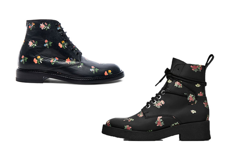 Botas con flores: Saint Laurent Vs. Zara-49378-bearodriguez