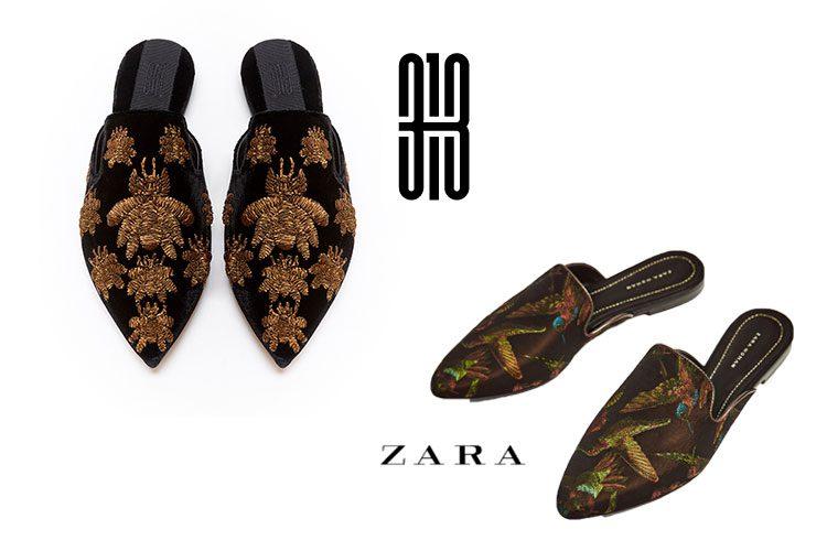 ¡Las slippers que vas a querer! Sanayi 313 Vs. Zara-49560-entutiendamecole
