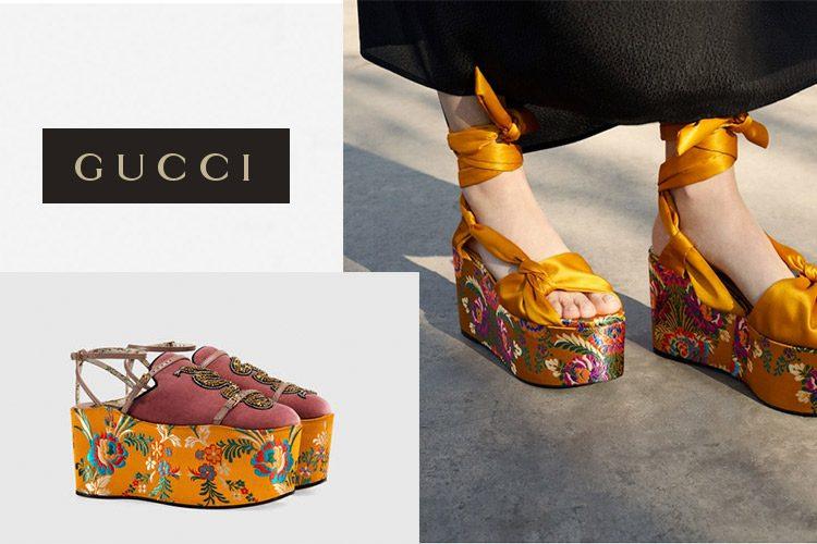 zapatos Mango y Gucci