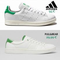 Adidas vs Pull & Bear