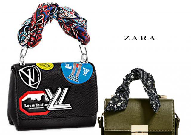 Bolso bandolera: Zara Vs. Louis Vuitton