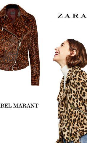 Cazadora de leopardo: Isabel Marant Vs. Zara