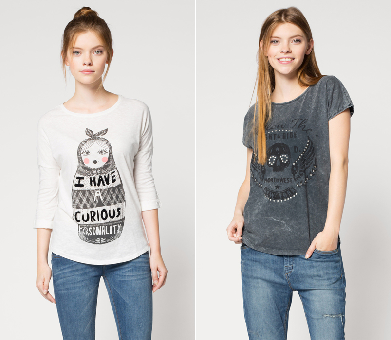 Camisas colección Clockhouse C&A