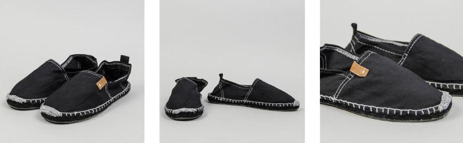 Alpargatas Janira en color negro