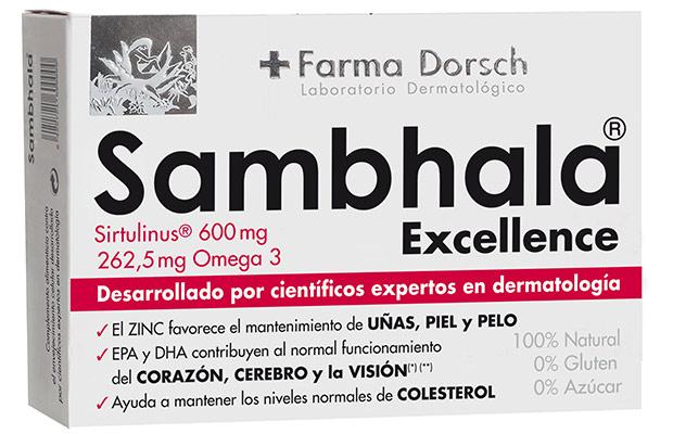Sambhala el complemento alimenticio de FRIDDA DORSCH en pastillas