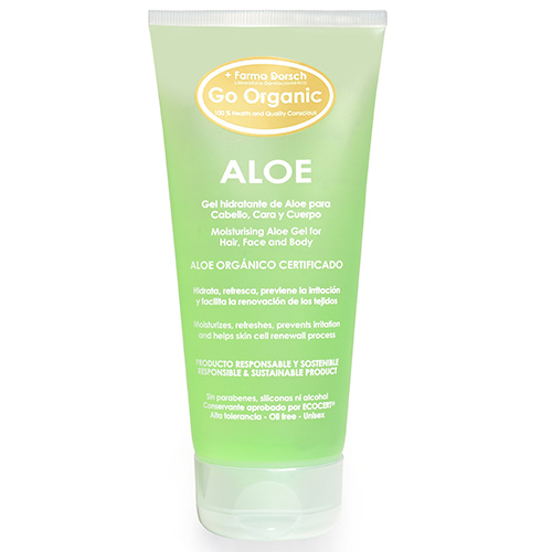 Gel de Aloe Orgánico de la línea Go Organic de FRIDDA DORSCH