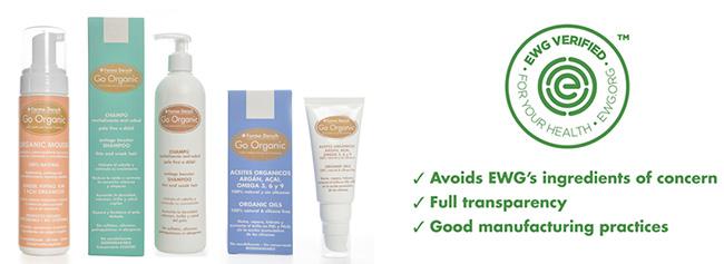 cosmética Orgánica de la gama Go Organic de Fridda Dorsch