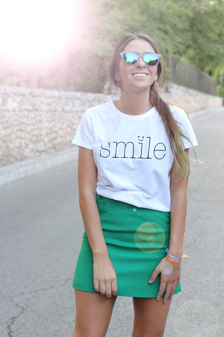 5 smile tee