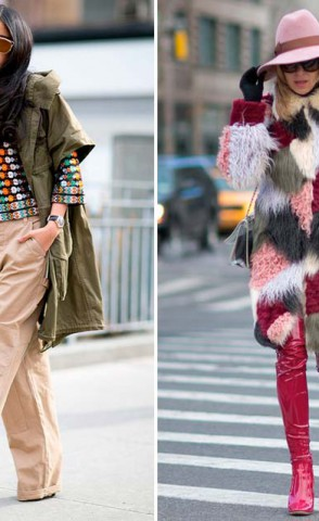 Street Style Fashion Weeks