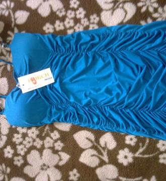 vestido azul sensual a estrenar