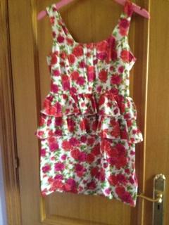 Vestido talla 8 uk