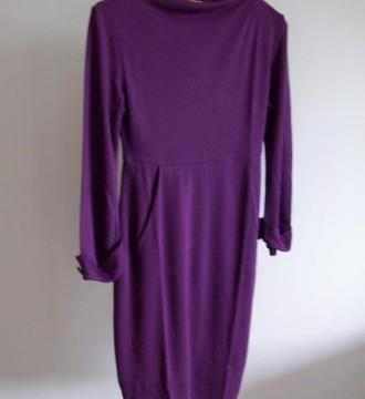 vestido morado Fandoo