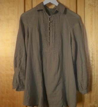 Camisa verde de zara