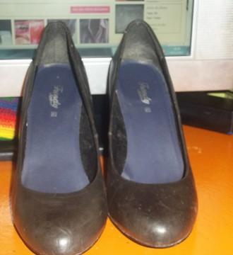 Zapatos tacón madera (41)