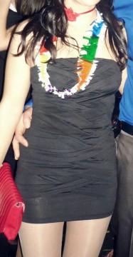 Mini vestido negro El Corte Inglés