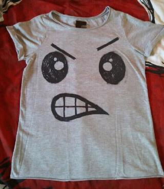 Camiseta Gris Original