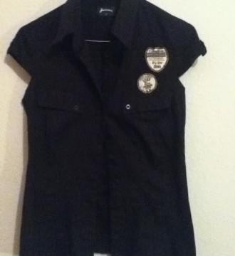 VENDO(8€)Camisa negra STR