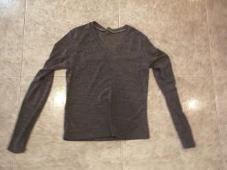Jersey finito gris talla S