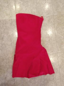 Vestido rojo talla 34