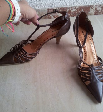 Zapatos marrones de Bronx (Corte Inglés)